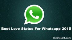 Cute Love Status For Whatsapp In Hindi and English {2015}