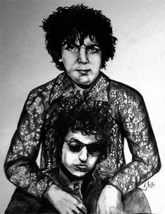 Syd Barrett y Bob Dylan.