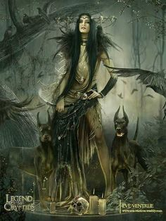 Dark Fantasy Art - Legends of the   Cryptids ~Eve Ventrue