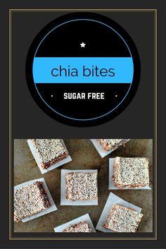 No Bake Chocolate Chia Bites