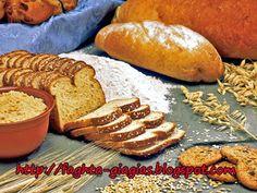 Κριθαρένιο ή κρίθινο αλεύρι Barley Flour, Bread, Food, Essen, Breads, Baking, Buns, Yemek, Meals