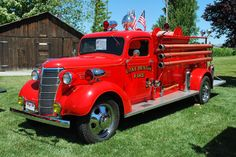 1938 Chevrolet TD Lake Benton Fire Truck 1