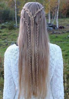 Easy Hair Ideas For School  : 1 2 3 Elven Braids!!!