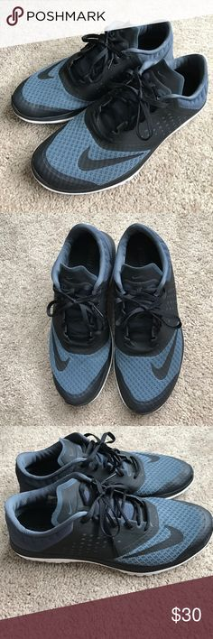 Nike Running Shoes Nike ES Lite Run 2. Dark gray/black. Worn a few times but in good condition. Nike Shoes Athletic Shoes