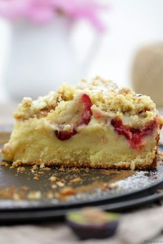 Crumble cake with quark layer and plums - backen - Kuchen Reese's Peanut Butter Bars, Peanut Butter Squares, Chocolate Peanut Butter Fudge, Coconut Peanut Butter, Chocolate Topping, Tart Recipes, Dessert Recipes, Desserts, Canadian Butter Tarts