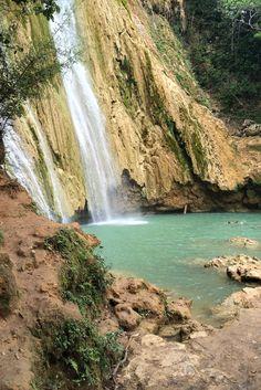 Salto del Limon waterfall in Samana