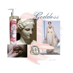 "Goddess Tummy Oil Natural Macadamia Oil for Pregnancy Skincare ""Modern Goddess"" by lucy-rose-shepherd on Polyvore"
