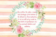 Mimi Lee Printables & More: Howard W Hunter lesson 7-Continuous Revelation through Living Prophets