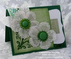 Design Junkies: Vellum Floral and Greens