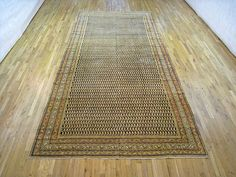 """Persian: Floral 14' 3"""" x 6' 10"""" Antique Saraband at Persian Gallery New York - Antique Decorative Carpets & Period Tapestries"""