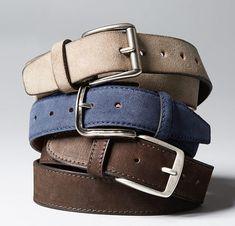 Estos son unos cinturones que pueden ir bien con diferentes trajes. Puesto que son sólidos que son más fáciles para que coincida con los colores. En mi opinión el cinturón marrón oscuro es el mejor.