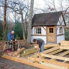 timber frame diy