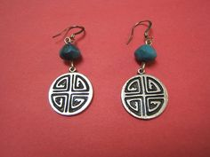 Free Shipping Indian Style Silver Earring by DesignsByMaral