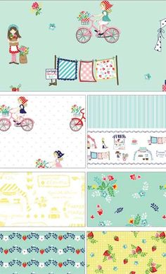Vintage Market by Tasha Noel for Riley Blake Designs—Subscribe to our newsletter at http://www.rileyblakedesigns.com/newsletter/
