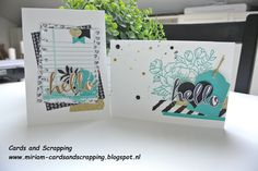 Cards and Scrapping, Stampin Up, Birthday Blooms
