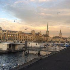 A morning in Zurich.