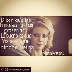 Gracias por tanto cariño y tantos memes maravillosos @fernandacasfans #cabronacomomonicarobles