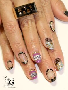spicy mix Japanese nail