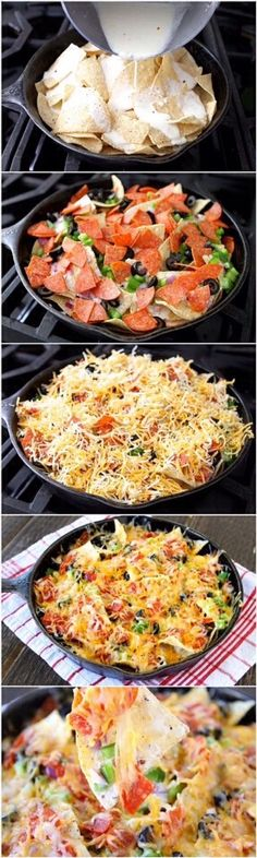 Pizza Nachos Delicious And SO Easy #Musely #Tip