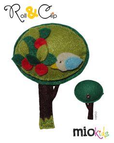 Mio Personagem Árvore para utilizar com sistema Roll & Clip. | Tree Mio Character to use with Roll & Clip System.