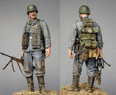 On the Maginot Line | Figures | Gallery on Diorama.ru