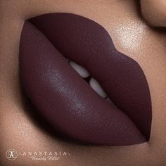 "Anastasia Beverly Hills on Instagram: """"Trust Issues"" new liquid lipstick ✨ launching July 15th at 10:00 am Pacific on my website✨✨ @marcelocantuphoto ✨✨The fall liquid lipstick are available on my website & @macys online on 7-15✨ ✨ Liquid Lipsticks are available in Macy's Impulse stores exclusively starting the week of 7-26✨✨ #anastasiabeverlyhills #liquidlips"""