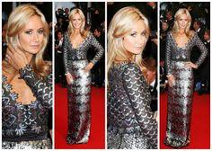 Cannes Film Festival 2013. Gown by Sir Addy van den Krommenacker. Seen here on Lady Victoria Hervey, UK Socialite.