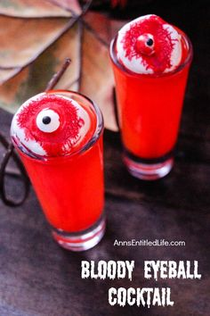 vodka eyeball jello shots for halloween how to make by drink lab popular youtube drink recipes pinterest jello shots jello and labs