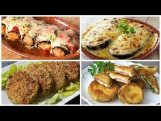 4 recetas con berenjenas para lucirte - YouTube Cooking Time, Cooking Recipes, Eggplant Recipes, Lunch Meal Prep, Anna, Spicy, Pork, Meals, Dishes