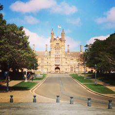 Sydney university enrollment, so beautiful! #uni#sydneyuniversity #beautiful