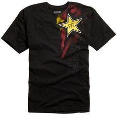 8651f544 MX1 - Fox Racing Rockstar Faded T Shirt Black Large, £24.95 (http: