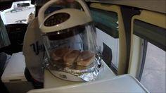 RV Cooking - NuWave Oven Pork Chops in Casino Parking Lot