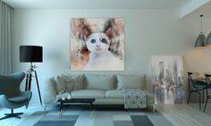 Prints op bijvoorbeeld canvas, aluminium, hout of plexiglas.