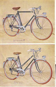 cycles peugeot 1952 brochure 3/18 | bikes -catalogues | pinterest