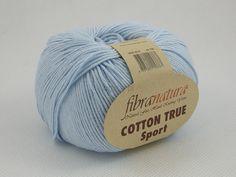 Włóczka Cotton Tru Sport kolor jasnoniebieski nr 107-07 Pasmanteria U Gaby