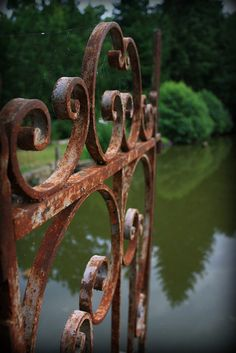 Old Iron Gate by noriko.stardust on Flickr.