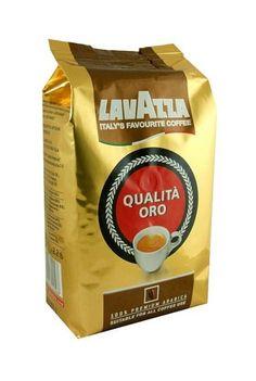 KAWA LAVAZZA Qualita Oro Ziarnista 1 kg  • 100% arabiki • średnio prażona • intensywny, bogaty smak • opakowanie próżniowe • do ekspresów i tradycyjnego parzenia