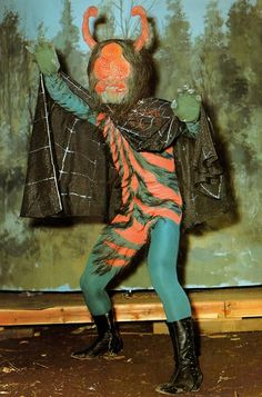 "Kumo-Otoko (the spider man) from Japanese TV series ""Kamen Rider (the masked rider)"""