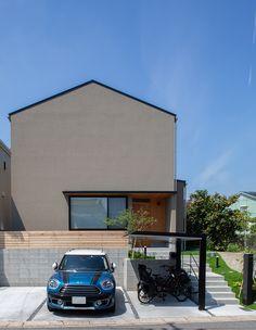 Facade, Exterior, House, Houses, Architecture, Home, Haus, Facades, Outdoor Rooms