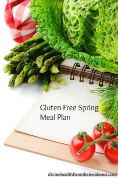Gluten-Free Spring Meal Plan | Divine Health