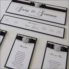 Based on our Fitzgerald design, this luxurious wedding table plan is all about texture and sparkle.  Finished with a textured paper, satin Dior bow and crystal embellishment, printed onto white or cream card and backed with your colour choice card  They have a header with your names and date of the wedding at the top and you can have a long top table across the top if required.  Mounted to cream or white card mountboards measuring 500mm x 700mm and can be portrait or landscape.  We do not…