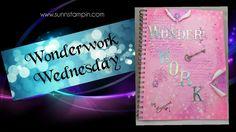 Wonderwork - Art Journal Page Process Art, Art Journal Pages, Mesh