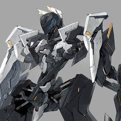 白犭 [1] Armored Core, Robot Concept Art, Gundam, Cyberpunk, Science Fiction, Fighter Jets, Fantasy, Artwork, Robots