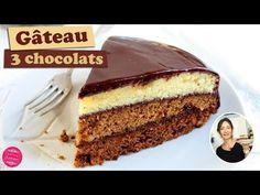 Gâteau aux trois chocolats pour la fête des pères : Il était une fois la pâtisserie