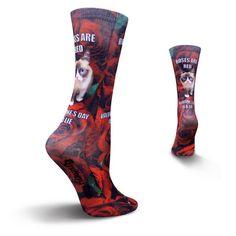 Valentines Day Socks