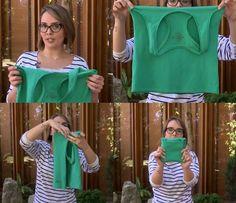 Aprenda a dobrar suas camisetas e arrume tudo melhor do seu armário (Foto: Divulgação)