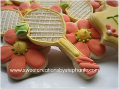 Sweet Creations by Stephanie: Tennis Anyone?