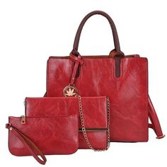 3 Set Designer Women Leather Crossbody Bags – KES Store Satchel Handbags, Leather Handbags, Leather Crossbody Bag, Pu Leather, Crossbody Bags, Vegan Leather, Shoulder Handbags, Shoulder Bag, Luxury Handbags