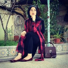 Image in Fashion&hijab collection by hani on We Heart It Cigarette Pants Pakistani, Muslim Fashion, Hijab Fashion, Hijab Collection, Mode Hijab, Womens Fashion, Boards, Outfits, Image