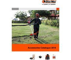 Catálogo OLEO-MAC 2016 | Acessórios  #lusomotos #oleomac #oleomacportugal #acessórios #floresta #jardim